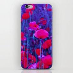 poppies iPhone & iPod Skin
