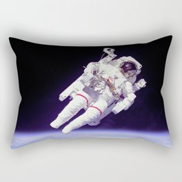 Astronaut on a Spacewalk Rectangular Pillow