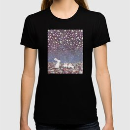 bunnies under the stars T-shirt