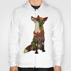 fox love off white Hoody