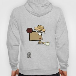 """Dialog with the dog N52 - """"Detective"""" Hoody"""