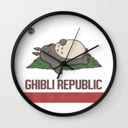 Ghibli Republic Wall Clock
