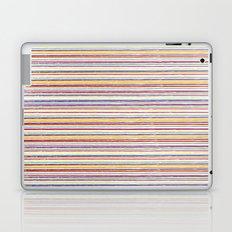 SUMMER CRAYON STRIPES Laptop & iPad Skin
