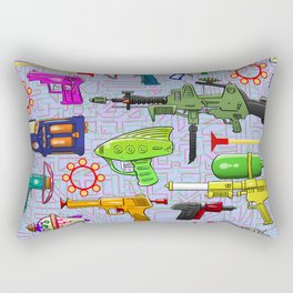 Vintage Toy Guns Rectangular Pillow