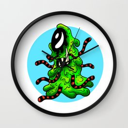 Hester - The Unbelevable Slime Monster Wall Clock