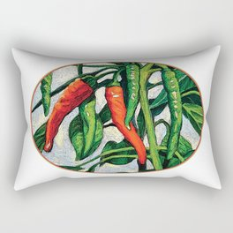 Chili Peppers by KPC Studios Rectangular Pillow