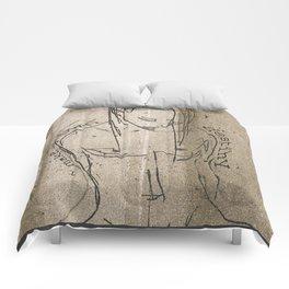 I make my own destiny Comforters