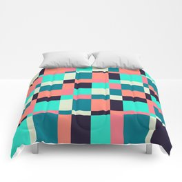 colorful squares Comforters