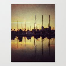 Marina Bay Lines Canvas Print