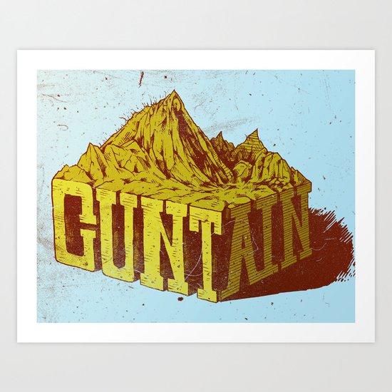 Cuntain Art Print