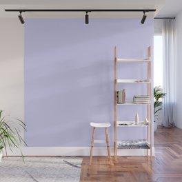 Simply Periwinkle Purple Wall Mural