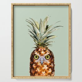 PINEAPPLE OWL Serving Tray