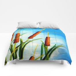 Cattails Comforters