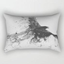 The Raven Flies Rectangular Pillow