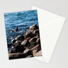 Rocks on the Water Stationery Cards