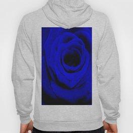 Expansion Blue rose flower Hoody