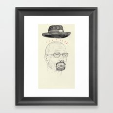 walt Framed Art Print