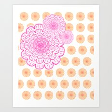 supes girly Art Print