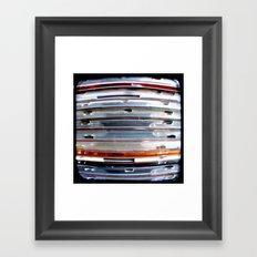CD Stack - Through The Viewfinder (TTV) - ANALOG zine Framed Art Print