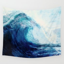 Waves II Wall Tapestry