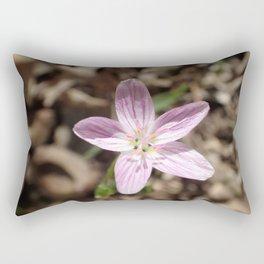 pretty little pink  flower Rectangular Pillow