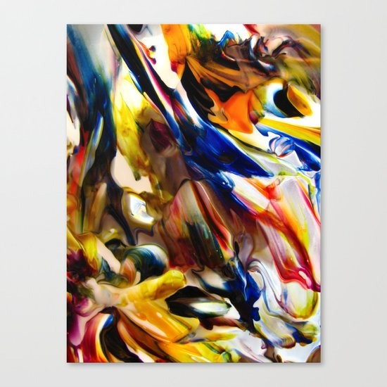 Interstitial Canvas Print