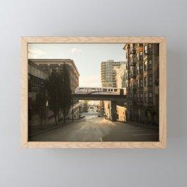 Morning Train Framed Mini Art Print