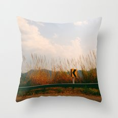 Far From Home Throw Pillow