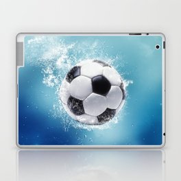 Soccer Water Splash Laptop & iPad Skin