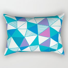 Vivid Pattern XIV Rectangular Pillow