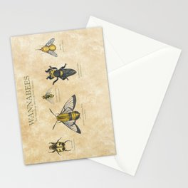 wannabees: Bee Mimicking Inects Stationery Cards