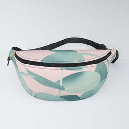 Eucalyptus Leaves Green Blush #1 #foliage #decor #art #society6 Fanny Pack