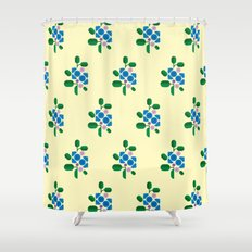 Fruit: Blueberry Shower Curtain