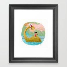 Nessie Framed Art Print