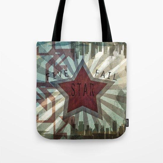 Five Star Fail. Tote Bag