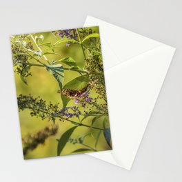 Great Spangled Fritillary on a Butterfly Bush Stationery Cards