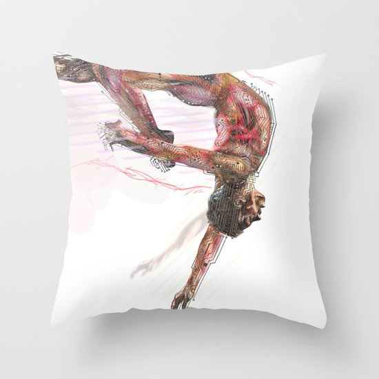 The Olympic Games, London 2012 Throw Pillow