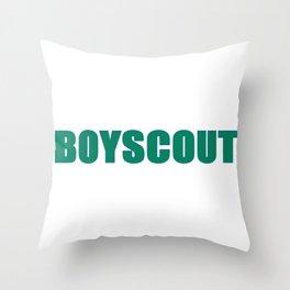 BOYSCOUT BY ROBERT DALLAS Throw Pillow