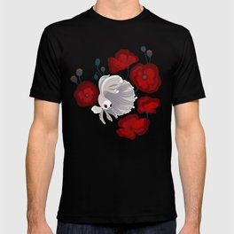 Bettas and Poppies T-shirt