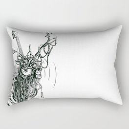 Cable Elk. Rectangular Pillow