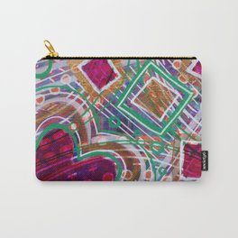 Movement from the Heart Space: Inner Power Painting Carry-All Pouch