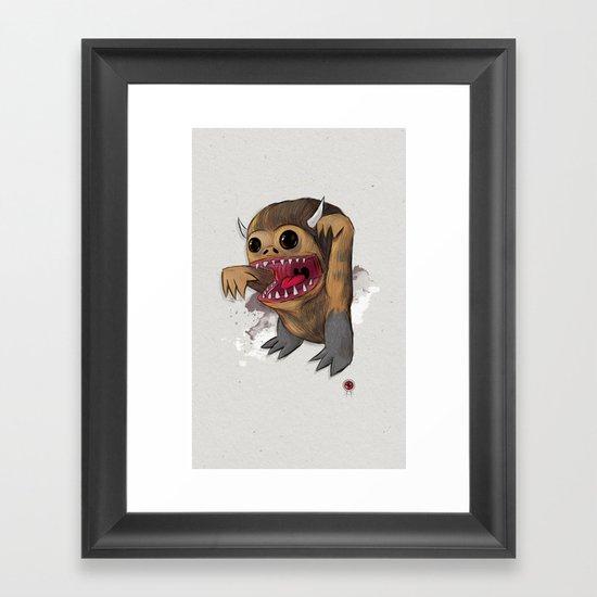Wild 1 two Framed Art Print