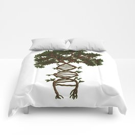 Nature Is My DNA | Tree Roots Forest Earth Day Comforters