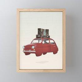 The Journey Begins Framed Mini Art Print