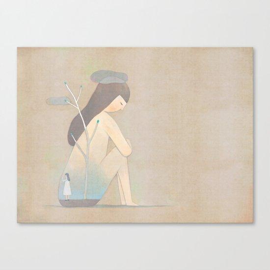 hello Canvas Print