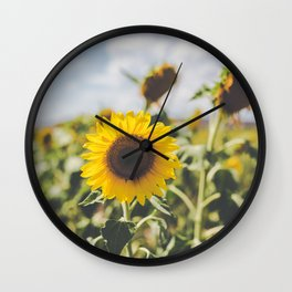 Allora | Sunflowers Wall Clock