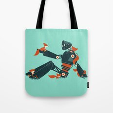Foxes & The Robot Tote Bag
