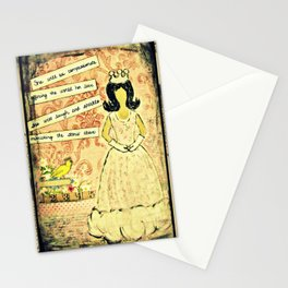 She will be compassionate Stationery Cards