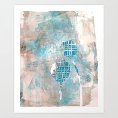 Poppyheads Art Print