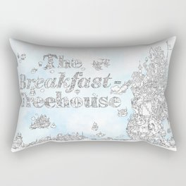 Breakfast Treehouse Rectangular Pillow